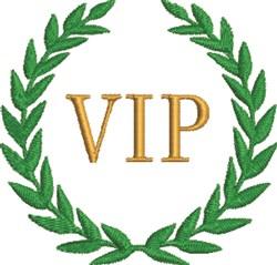 VIP Wreath embroidery design