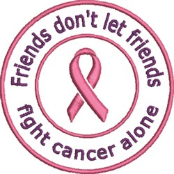 Fight Cancer embroidery design