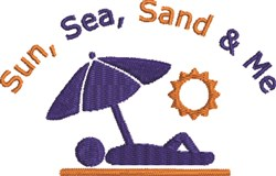 Sand & Me embroidery design