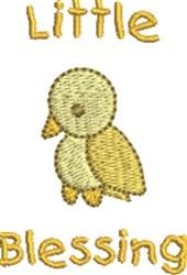 Little Blessing Bird embroidery design