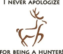 Funny Deer Outline embroidery design