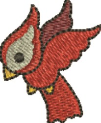 Small Cardinal embroidery design