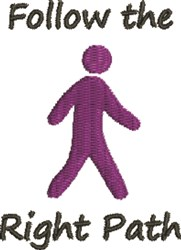 Religious Walker embroidery design