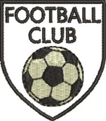 Football Club embroidery design