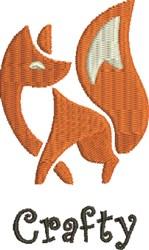 Artisic Fox embroidery design