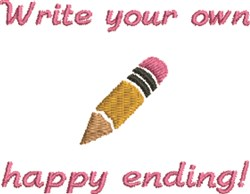 Write Your Story! embroidery design