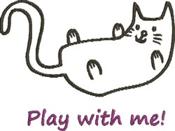 Play With Me! embroidery design