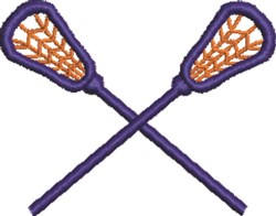 Lacrosse embroidery design