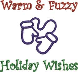 Warm & Fuzzy embroidery design