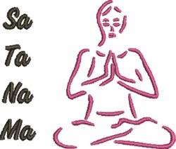 Sa Ta Na Ma embroidery design