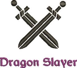 Dragon Slayer embroidery design