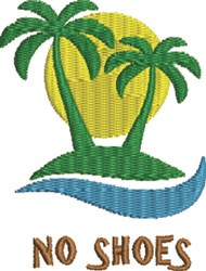 PalmTree 3C embroidery design