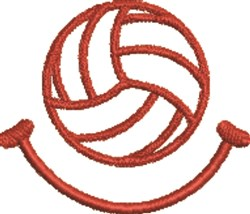 Volleyball 7 embroidery design