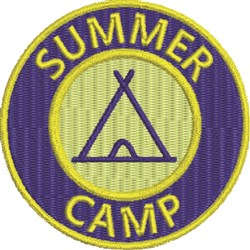 Summer Camp 3 embroidery design