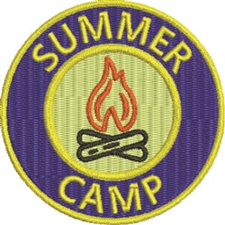 Summer Camp 4 embroidery design