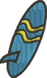 Surfboard 1 embroidery design