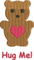 Teddy Bear 3A embroidery design