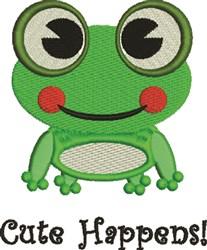Cute Happens! embroidery design