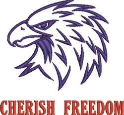 Cherish Freedom embroidery design