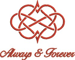 Always & Forever embroidery design