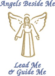 Angels Beside Me embroidery design