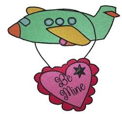 Be Mine, Valentine embroidery design