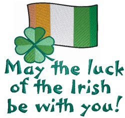 Luck Of The Irish embroidery design