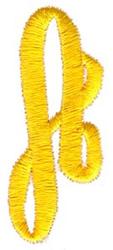 Swirl Monogram A embroidery design