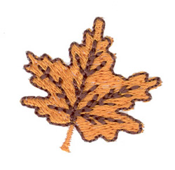 Small Leaf embroidery design