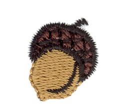 Acorn embroidery design