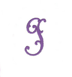 Elegant Vine Monogram I embroidery design