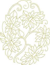 Easter Goldwork embroidery design