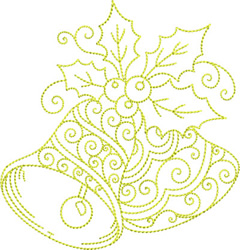 Christmas Bells embroidery design