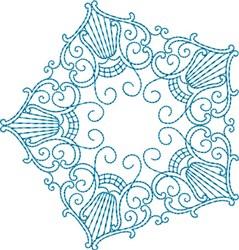 Pentagon Star embroidery design