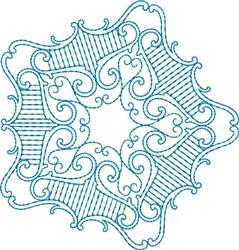 Star Design embroidery design