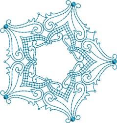 Pretty Star embroidery design