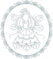 Angel Design embroidery design