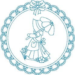 Sunbonnet Sue embroidery design