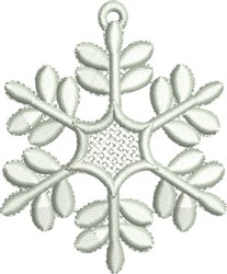 Snowflake FSL embroidery design