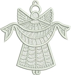 Angel FSL embroidery design