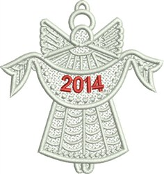 2014 Angel FSL embroidery design
