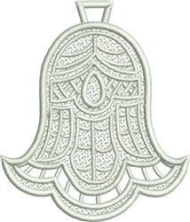 Christmas Bell FSL embroidery design