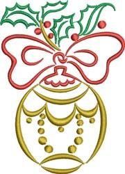 Christmas Ball embroidery design