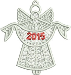 FSL Christmas Angel embroidery design