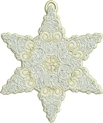 FSL Antique Star embroidery design