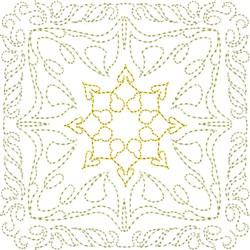 Line Motif Quilt Block embroidery design