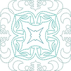 Line Motif Quilt Block embroidery design