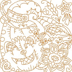 Autumn Pumpkin embroidery design