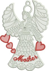 FSL Mother Angel embroidery design