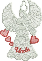 FSL Uncle Angel embroidery design